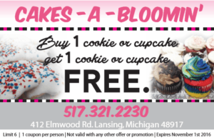 Cakes-A-Bloomin'