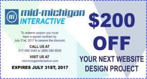 Mid Michigan Interactive Coupon